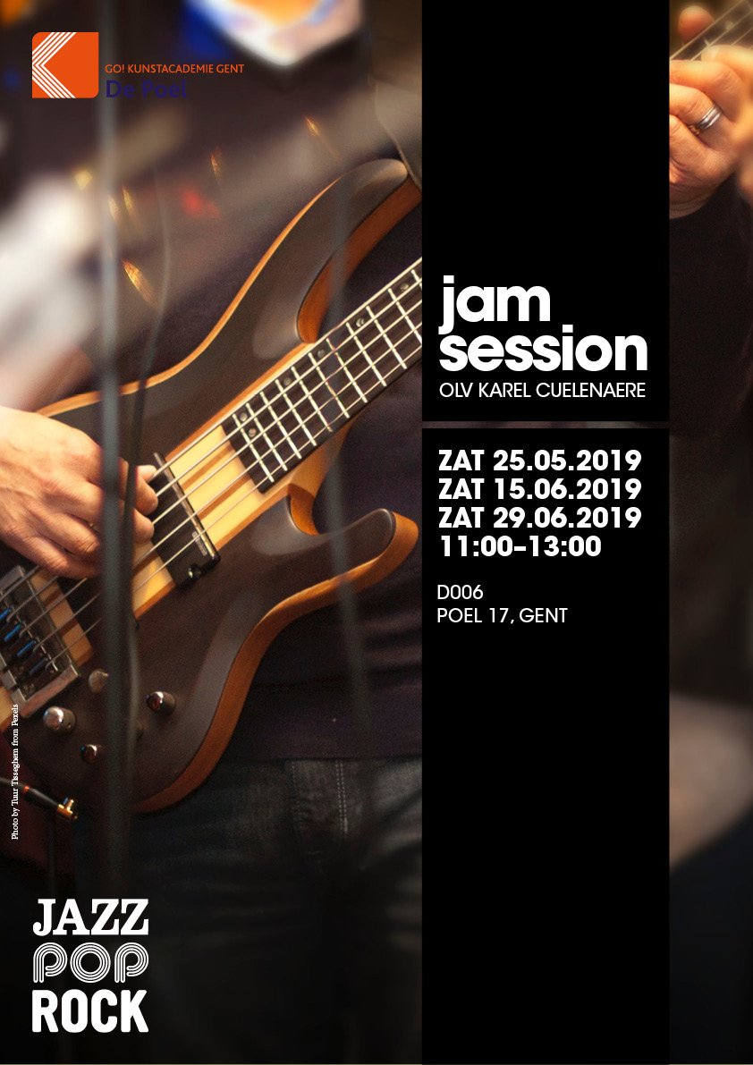 Jam Session zat 25.05.2019